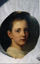 Антикварный портрет XVIII век